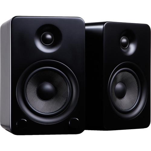 Kanto Living YU5 Powered Speakers (Pair, Matte Black)