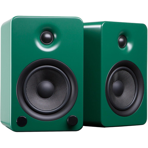 Kanto Living YU5 Powered Speakers (Pair, Matte Green)
