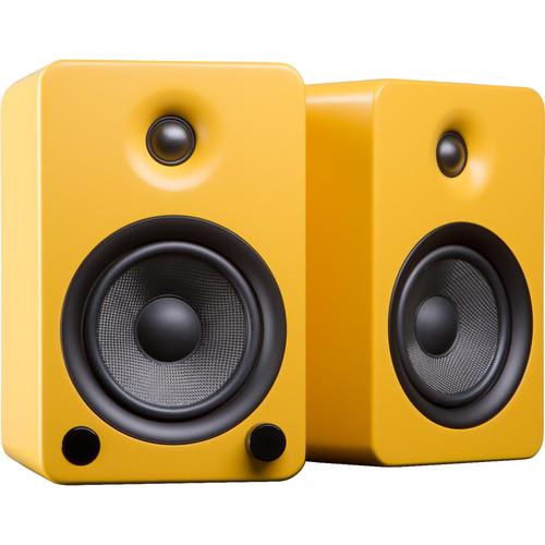 Kanto Living YU5 Powered Speakers (Pair, Matte Yellow)