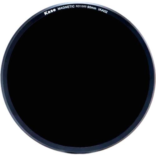 Kase 90mm Magnetic ND 1000 Solid Neutral Density 3.0 Filter for Kase K9 100mm Filter Holder (10-Stop)