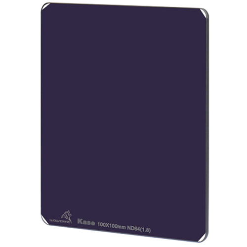 Kase 100 x 100mm Wolverine Solid Neutral Density 1.8 Filter (6-Stop)