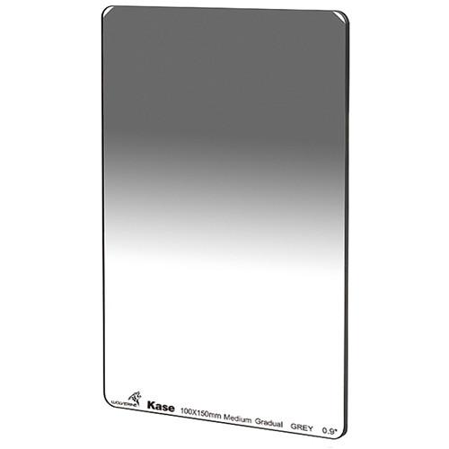 Kase 100 x 150mm Wolverine Medium-Edge Graduated ND 0.9 Filter (3-Stop)