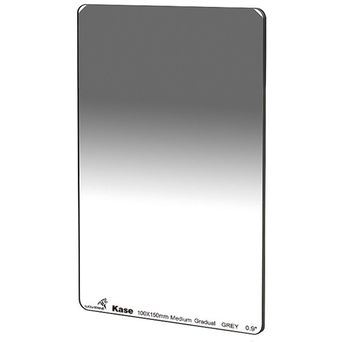 Kase 100 x 150mm Wolverine Medium-Edge Graduated ND 0.9 Filter (3-Stop)