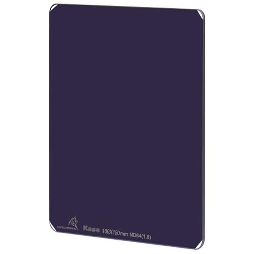 Kase 100 x 150mm Wolverine Oversized Solid Neutral Density 1.8 Filter (6-Stop)