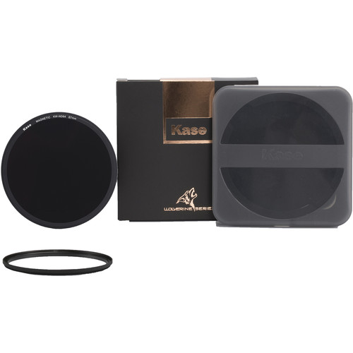 Kase Wolverine Magnetic ND64 Solid Neutral Density 1.8 Filter with 67mm Lens Adapter Ring (6-Stop)