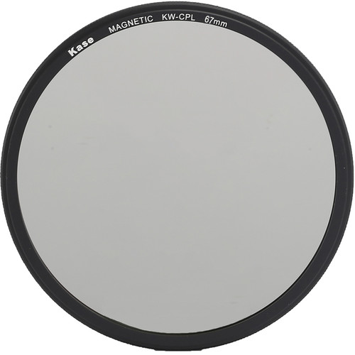 Kase Wolverine Magnetic Circular Polarizer Filter with 67mm Lens Adapter Ring