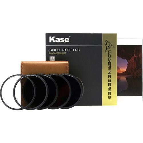 Kase 77mm Wolverine Magnetic Professional Neutral Density Filter Kit