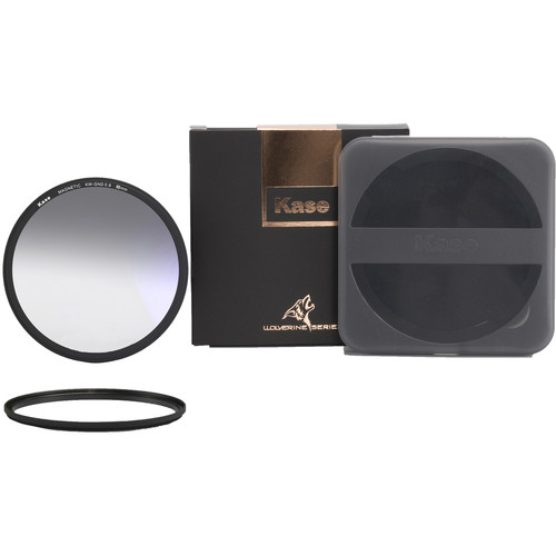 Kase Wolverine Magnetic Soft-Edge Graduated Neutral Density 0.9 Filter with 95mm Lens Adapter Ring (3-Stop)