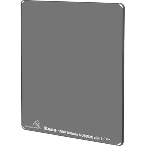 Kase 100 x 100mm Wolverine Slim 1.1mm Thick Solid Neutral Density 0.9 Filter (3-Stop)