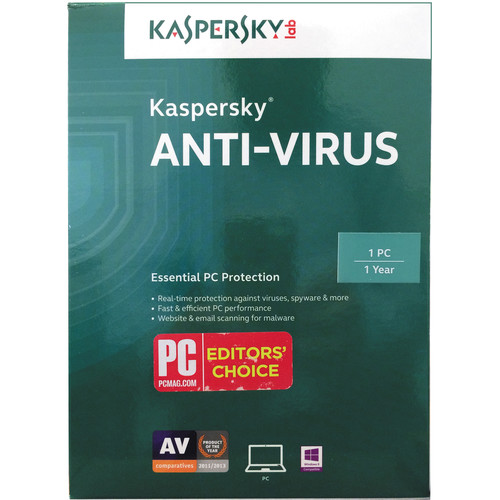 Kaspersky Anti-Virus 2015 (1 PC, 1-Year Protection)