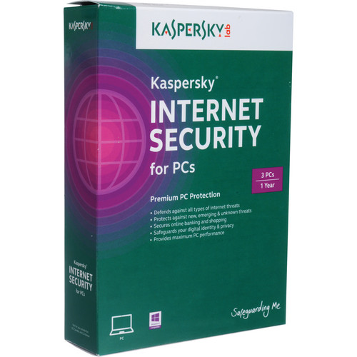 Kaspersky Internet Security 2014 for Windows (CD-ROM, 3-PC License)