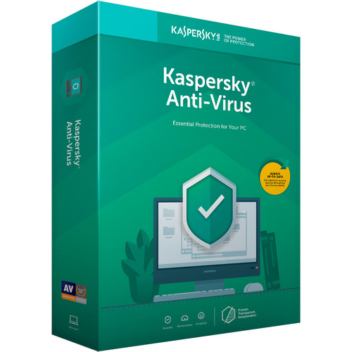 Kaspersky Anti-Virus 2019 (1 Device, 1-Year License, Boxed)