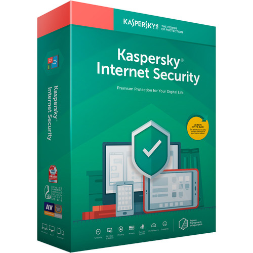 Kaspersky Internet Security 2019 (3 Devices, 1-Year License, Key Card Code)