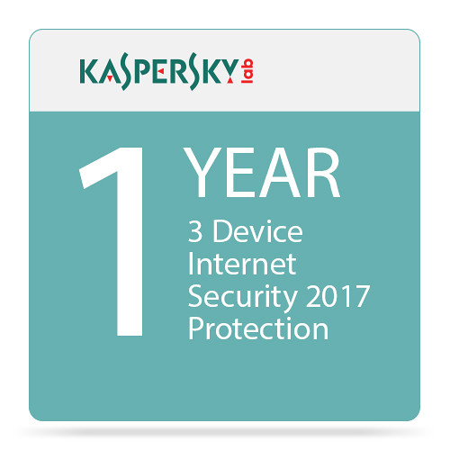 Kaspersky Internet Security 2017 (3 Devices, 1-Year Protection)