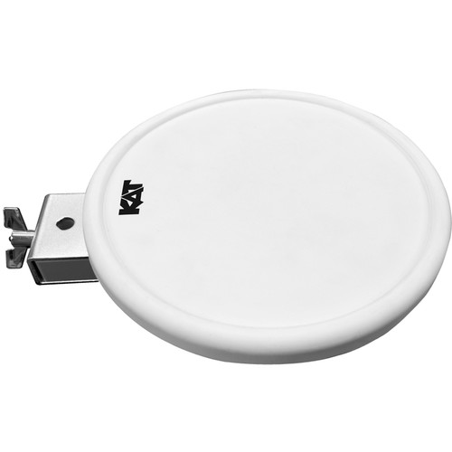 "KAT KT2EP1 - Pad Expansion Pack with 9"" Dual-Zone Drum Pad (White)"