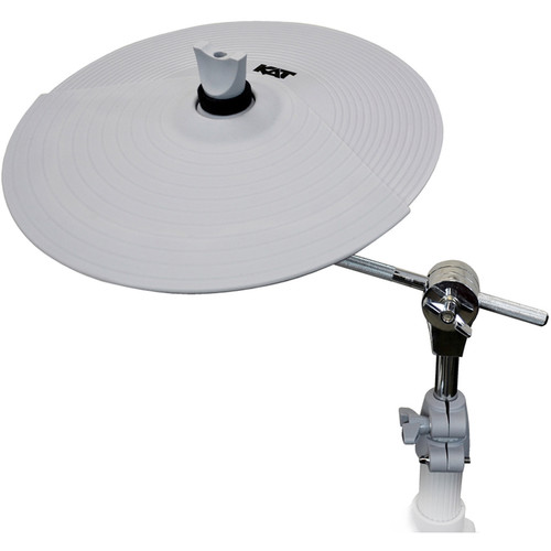 "KAT KT2EP2 - Cymbal Expansion Pack with 12"" Dual-Zone Cymbal Pad (Gray)"