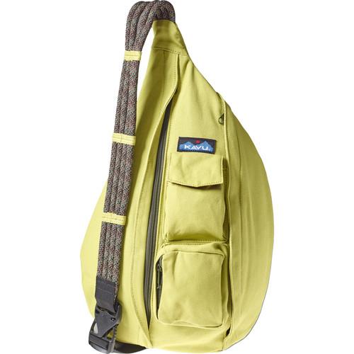 KAVU Rope Bag (Acid Green)