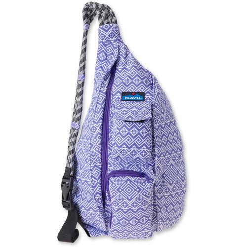 KAVU Rope Bag (Purple Quilt)