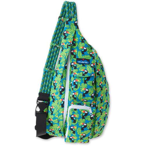 KAVU Rope Bag (Blue Toucan)