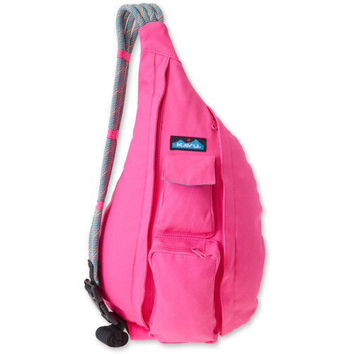 KAVU Rope Bag (Hot Pink)