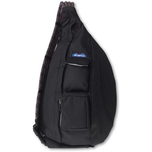 KAVU Rope Sling Bag (Black)