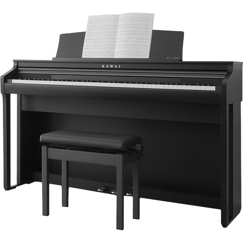 Kawai CA Series CA48 Digital Piano (Satin Black)