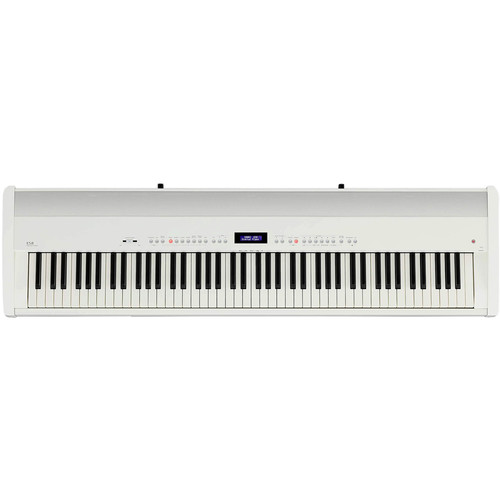 Kawai ES8 88-Key Digital Piano with Built-In Speakers (Ivory White)