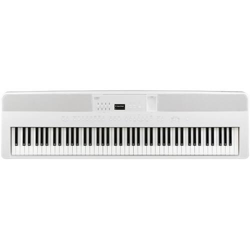 Kawai ES920 88-Key Portable Digital Piano w/ Speakers (Snow White)