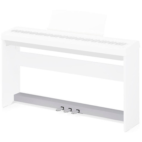 Kawai F-350 - Triple Pedal Assembly for ES100/ES110 Digital Piano (White)