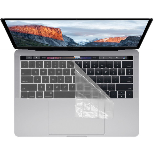 KB Covers Clear Keyboard Cover for MacBook Pro with Touch Bar