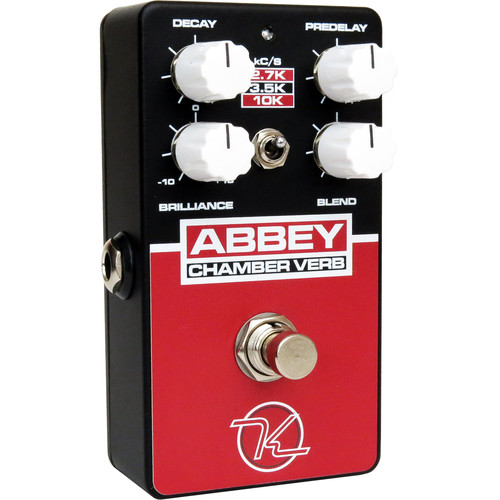 Keeley Abbey Chamber Verb Pedal