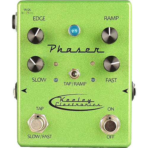 Keeley Phaser Analog Tap Tempo Pedal