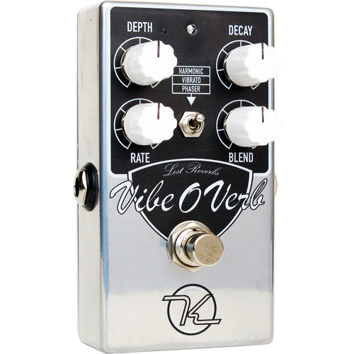 Keeley Vibe-O-Verb Modulated Reverb Pedal