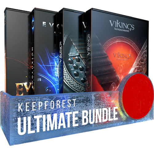 KeepForest Ultimate Bundle - Sound Effects and Scoring Instrument Libraries (Download)