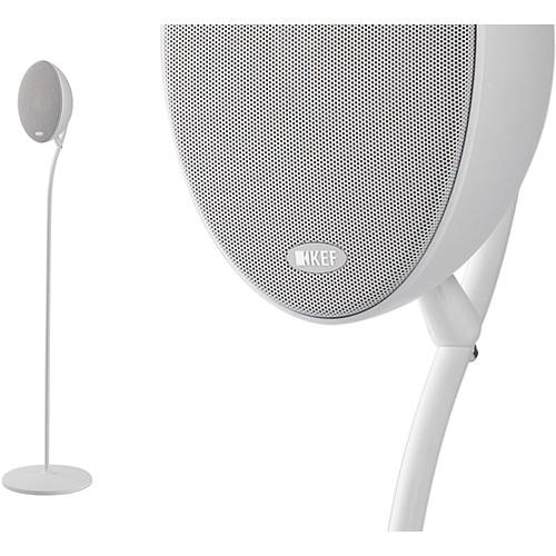 KEF Floorstand for E301 Satellite Speaker (Pair, White)