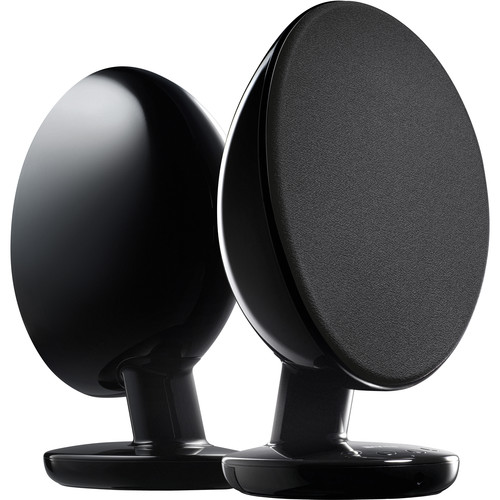 KEF EGG Wireless Digital Music System (Gloss Black)