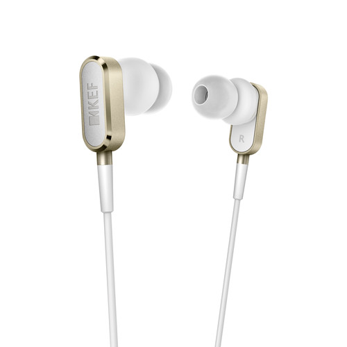 KEF M100 Hi-Fi Earphones (Gold)