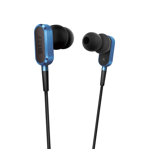 KEF M100 Hi-Fi Earphones (Blue)
