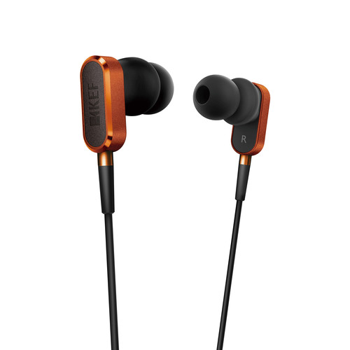 KEF M100 Hi-Fi Earphones (Orange)