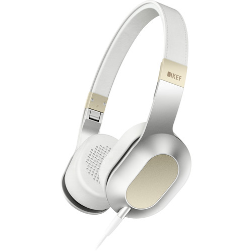 KEF M400 Hi-Fi On-Ear Headphones (Gold)