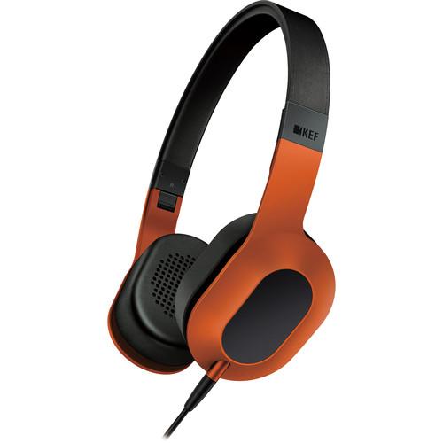 KEF M400 Hi-Fi On-Ear Headphones (Orange)