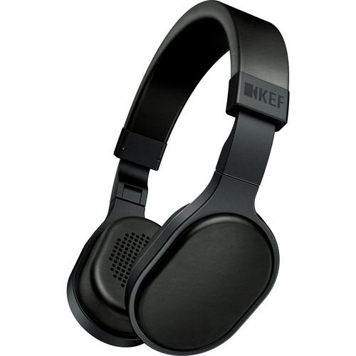 KEF M500 Hi-Fi On-Ear Headphones (Black)