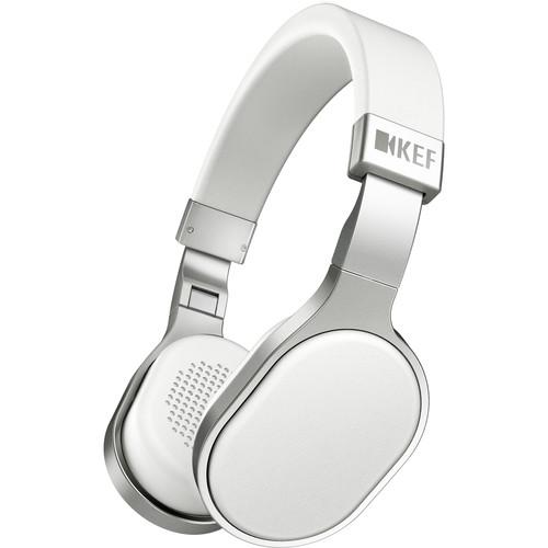 KEF M500 Hi-Fi On-Ear Headphones (White)