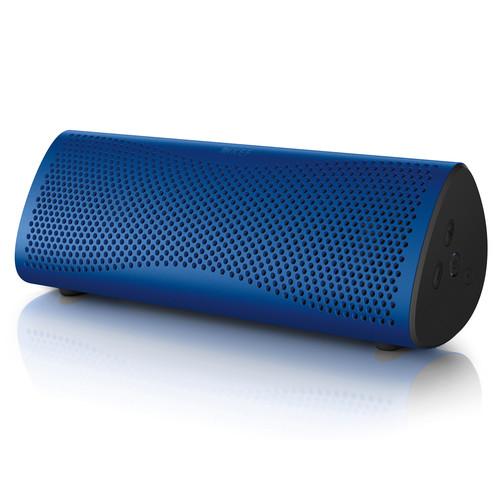 KEF MUO Portable Bluetooth Wireless Speaker (Neptune Blue)