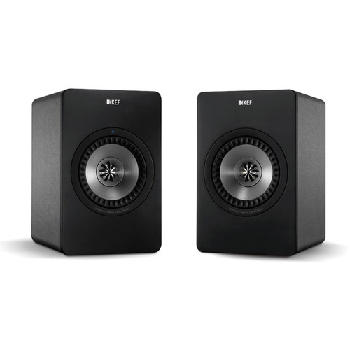 KEF X300A Powered 2-Way Digital Hi-Fi Speakers with USB Input (Pair)