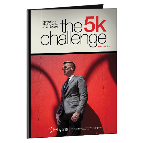 Kelby Media Professional Photography on a Budget: The 5k Challenge with Zack Arias (Download Card)