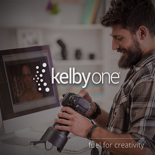 Kelby Media KelbyOne Annual Membership Online Training Subscription