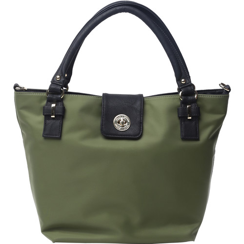 Kelly Moore Bag Saratoga Bag with Removable Basket (Olive)
