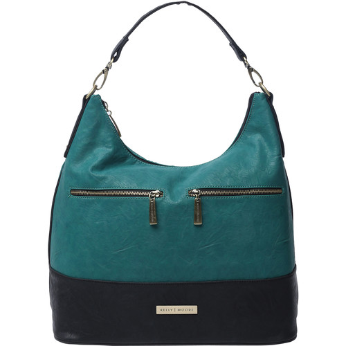 Kelly Moore Bag Brownlee Bag with Removable Basket (Jade)