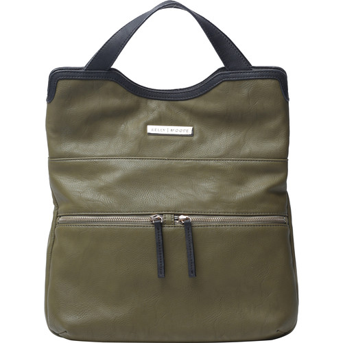 Kelly Moore Bag Steph Bag with Removable Basket (Army Green)